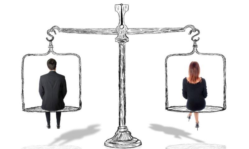 Gleichstellung von Männern und Frauen