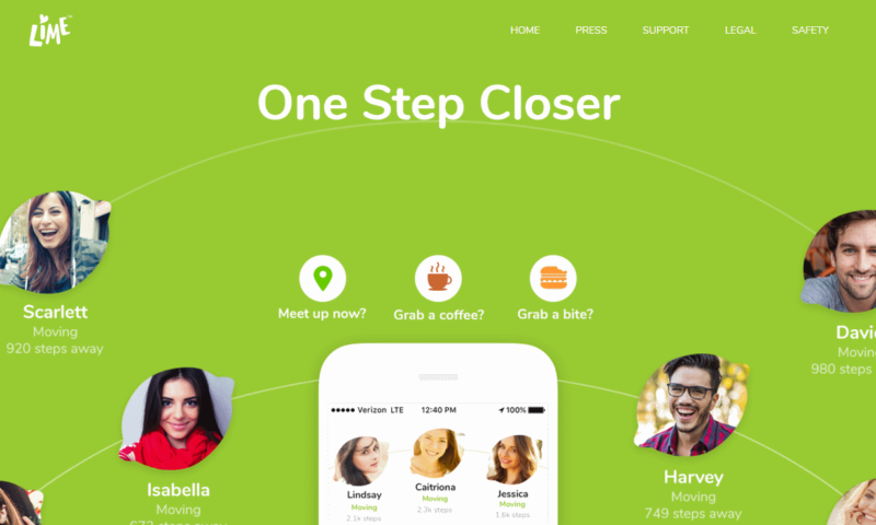 Dating-App Lime